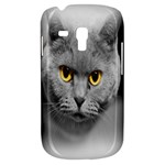 Animal Cat Golden Eyes Samsung Galaxy S3 MINI I8190 Hardshell Case