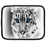 Animal Leopard In Snow Netbook Case (XL)