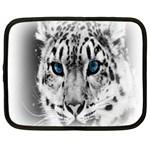 Animal Leopard In Snow Netbook Case (XXL)