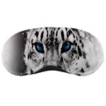 Animal Leopard In Snow Sleeping Mask