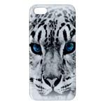 Animal Leopard In Snow iPhone 5 Premium Hardshell Case