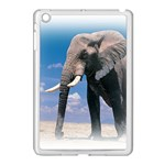 Animals Elephants Lonely But Strong Apple iPad Mini Case (White)