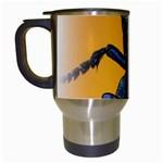 Animal Oil Beetle Travel Mug (White)