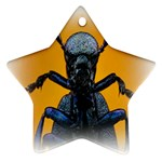 Animal Oil Beetle Star Ornament (Two Sides)