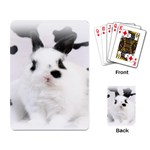 Animals Rabbits Brothers Playing Cards Single Design