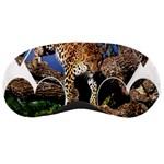 3 Dimention Kingdom Animal King Tree Climber Leopard  Sleeping Mask