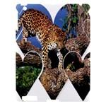 3 Dimention Kingdom Animal King Tree Climber Leopard  Apple iPad 3/4 Hardshell Case