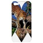 3 Dimention Kingdom Animal King Tree Climber Leopard  Apple iPhone 5 Hardshell Case