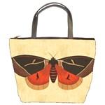 Vintage Moth  Bucket Bag