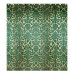 Vintage Wallpaper Shower Curtain 66  x 72  (Large)