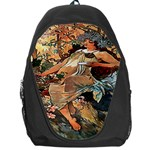 Autumn By Alfons Mucha 1896 Backpack Bag