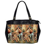 Autumn By Alfons Mucha 1896 Oversize Office Handbag (Two Sides)