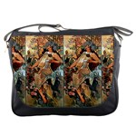 Autumn By Alfons Mucha 1896 Messenger Bag