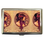 Donna Orechini By Alphonse Mucha Cigarette Money Case
