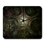 Dark Web Fractal Large Mousepad