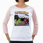 Killer Tomato Squirrel Girly Raglan