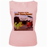 Killer Tomato Squirrel Women s Pink Tank Top