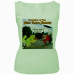 Killer Tomato Squirrel Women s Green Tank Top