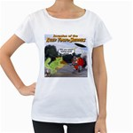 Killer Tomato Squirrel Maternity White T-Shirt
