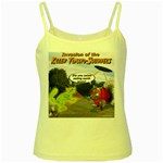 Killer Tomato Squirrel Yellow Spaghetti Tank