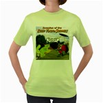 Killer Tomato Squirrel Women s Green T-Shirt