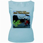 Killer Tomato Squirrel Women s Baby Blue Tank Top