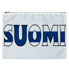 Finland Cosmetic Bag (xxl) by worldbanners