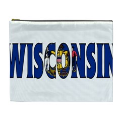 Wisconsin Cosmetic Bag (xl) by worldbanners