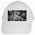 Pablo Picasso - Guernica Round White Cap