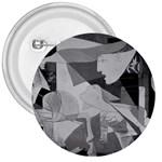 Pablo Picasso - Guernica Round 3  Button