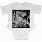 Pablo Picasso - Guernica Round Infant Creeper