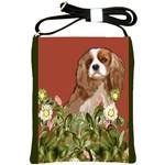 cavalier spaniel Shoulder Sling Bag