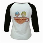 Double The Trouble Kids Baseball Jersey from Art2Do Back