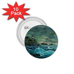 Hobson s Lighthouse -AveHurley ArtRevu.com- 1.75  Button (10 pack)