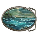 Hobson s Lighthouse -AveHurley ArtRevu.com- Belt Buckle