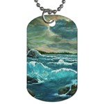 Hobson s Lighthouse -AveHurley ArtRevu.com- Dog Tag (One Side)