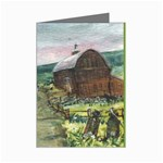 Amish Apple Blossoms -AveHurley ArtRevu.com- Mini Greeting Cards (Pkg of 8)