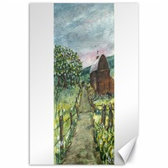 Amish Apple Blossoms 36 x24 Canvas - 1