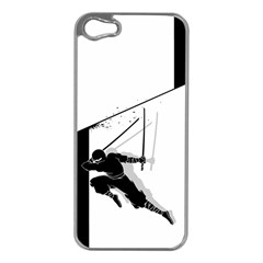 Slice Apple Iphone 5 Case (silver) by Contest1732468