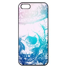 Skull King Colors Apple Iphone 5 Seamless Case (black) by TheTalkingDead