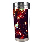 Ah 001 Ave Hurley Christmas Tree Close Up Stainless Steel Travel Tumbler from Art2Do Right
