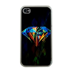 Diamonds Are Forever  Apple Iphone 4 Case (clear) by TheTalkingDead