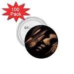 Nosferatu Vampire in His Tomb 1.75  Button (100 pack)
