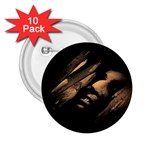 Nosferatu Vampire in His Tomb 2.25  Button (10 pack)