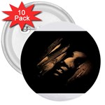 Nosferatu Vampire in His Tomb 3  Button (10 pack)