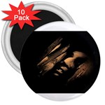 Nosferatu Vampire in His Tomb 3  Magnet (10 pack)