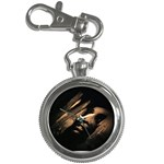 Nosferatu Vampire in His Tomb Key Chain Watch