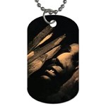 Nosferatu Vampire in His Tomb Dog Tag (One Side)