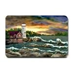 David s Lighthouse -AveHurley ArtRevu.com- Small Doormat