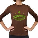 Talking Board Women s Long Sleeve Dark T-Shirt